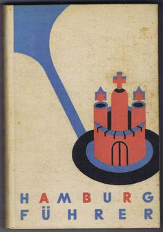 Antique Vintage German Book Hamburg Fuhrer by chemindesmuguets, $12.00