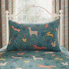 Woodland Ditsy Duvet Cover and Pillowcase Set | Dunelm