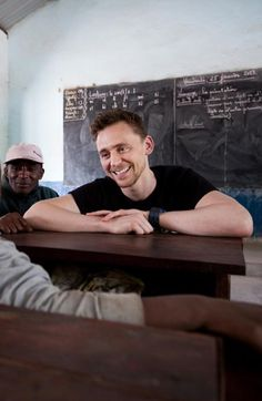 Tom Hiddleston - I think this sums up the lovely soul that Mr Hiddleston possesses
