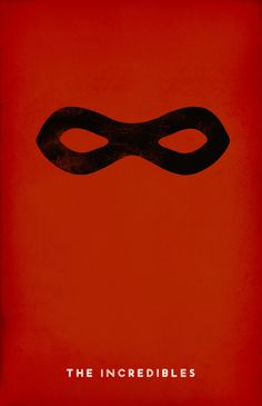 Minimalist poster for The Incredibles