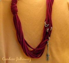 Easy Shirt Necklace | FaveCrafts.com
