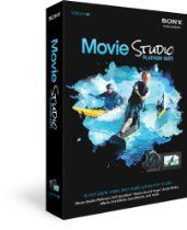 Sony Movie Studio Platinum Suite 12, create movies in AVCHD and stereoscopic 3D,  edit audio in Sound Forge Audio Studio, upload movies to Pixel cast, and burn to DVD or Blu-ray Disc,  includes features for video compositing, color correction, animated titling, surround sound mixing tools, NewBlueFX 3D Titling and Video Effects $63.95