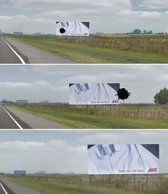 Make use of the environment to help you out with your ambient advertising.