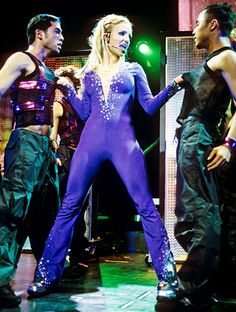 Britney during the Oops!...I Did It Again tour in Dallas, Texas