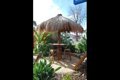 If you love the look and feel of a thatched roof outdoor gazebo, but don't want to pay alot for this type of Bali Hut, then the Umbrella Thatch is your best solution. The Umbrella Thatch creates a relaxed and tropical look and feel to your outdoor area an