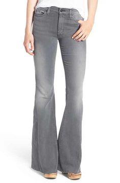 Hudson Jeans 'Laurel' Patchwork Flare Jeans (June Gloom)