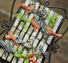 clothespin art. by nettie