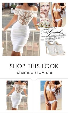 """""""Lovely"""" by elma-993 ❤ liked on Polyvore featuring Lauren Lorraine, women's clothing, women, female, woman, misses and juniors"""