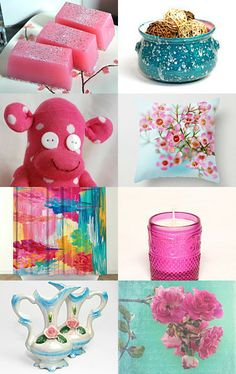 Spring is in town by Keren Mekler on Etsy--Pinned with TreasuryPin.com