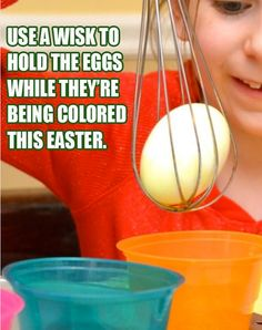 Easter eggs coloring