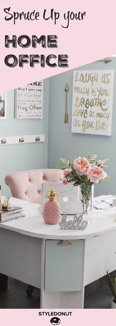 Working from home? 10 ways to make your office more inspiring. The good news is that whether you have a large room or just a small corner you can easily turn that space into a cozy and inspiring one. We've collected our favourite ideas on how to achieve a great home office.