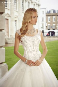 Roma from the Ronald Joyce 2015 collection! Check out the rest of the wedding dresses here...