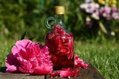 Tonik z piwonii Diy Beauty, Beauty Hacks, Slim Body, Tonik, Natural Beauty, Diy And Crafts, Remedies, Perfume Bottles, Herbs