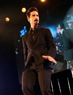 Kevin Richardson of Backstreet Boys performs onstage during the Second Annual Hilarity For Charity benefiting The Alzheimers Association at the Avalon on April 25, 2013
