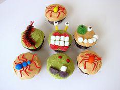 creepy crawler cupcakes - Google Search