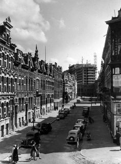 Saftlevenstraat Rotterdam (jaartal: 1950 tot 1960) - Foto's SERC