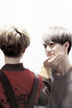 "HunHan  ""Why does Lu always do that to sehun? i freakin LOVE IT!"""