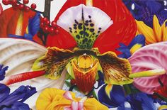 Marc Quinn (British, b. 1964), Higher Atmosphere, 2006. Acrylic on canvas, 168 × 255cm.