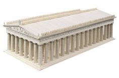 The Parthenon Paper Model