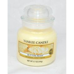 Bougie Petite Jarre BUTTERCREAM Yankee Candle