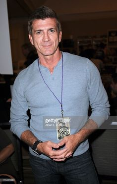 Actor Joe Lando participates in The Hollywood Show held at Westin LAX Hotel on July 2013 in Los Angeles, California.