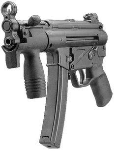 HK Mp5 Military Weapons, Weapons Guns, Guns And Ammo, Big Guns, Cool Guns, Heckler & Koch, Battle Rifle, Submachine Gun, Fire Powers