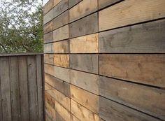 exterior and interior siding using redwood fencing. Petaluma Studio/Shed 3