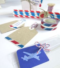 Air Mail letter set by shop Holamamá