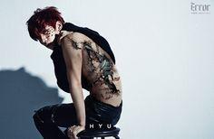"Hyuk: VIXX reveals jacket image + concept photos for 2nd mini-album, ""Error"""
