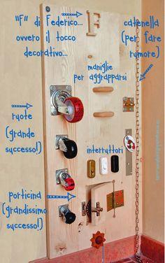 Activity wood board. La tavoletta multiattività di Quandofuoripiove