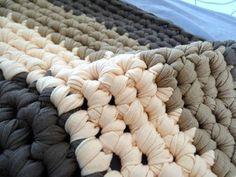t-shirt yarn rug free pattern