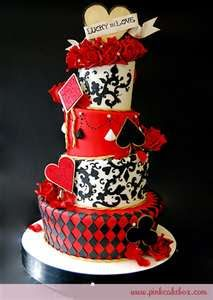 Wedding Inspirations: Red, Black, and Gold Wedding