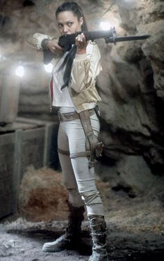 Still of Angelina Jolie in Lara Croft Tomb Raider: The Cradle of Life