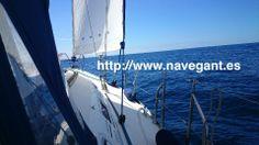 Bonito dia para salir a navegar. http://www.navegant.es