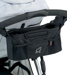 Stroller caddy - Britax USA. This is definitely a must have for you're stroller.