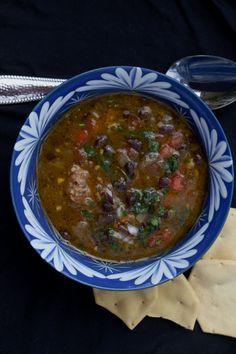 My Rio de Janeiro: A Cookbook-Sopa de Feijao com Salsicha / Black Bean and Sausage Soup