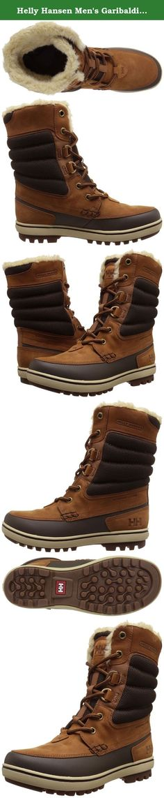 Helly Hansen Men's Garibaldi 2 Cold-Weather Boot. Keep warm while looking your best. The garibaldi 2 snow boot is the perfect blend of style and function with it's protective toe-to-heel rand combined with beautiful waterproof nubuck leathers and a warm faux fur lining.