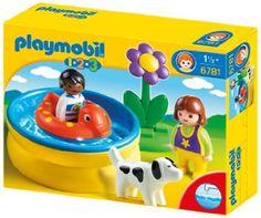 PLAYMOBIL 6781 - Kinder mit Planschbecken: Amazon.de: Spielzeug