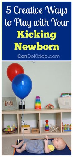 Learn why kicking is important work for baby's development and simple creative ways to promote kicking in play. CanDo Kiddo
