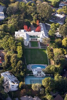 Hilton family estate in Beverly Hills.