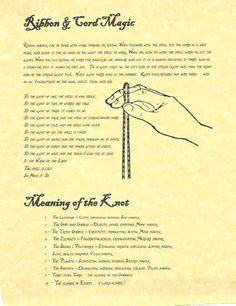 Ribbon and Cord Magic