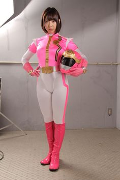 Pink Power Rangers, Harajuku, Fashion Show, Cosplay, Japanese, Style, Pink Suit, Suits, Boots