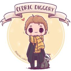 """Gefällt 7,059 Mal, 138 Kommentare - Naomi Lord (@naomi_lord) auf Instagram: """"Starting a little chibi Triwizard champion series :3 starting with Cedric Diggory! And I do…"""""""