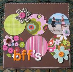 Image Search Results for scrapbook layouts friends