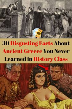 30 Disgusting Facts About Ancient Greece You Never Learned in History Class Weird Facts, Fun Facts, Intresting News, Ancient Greece Facts, Parenting Fail, History Class, Teen Actresses, Stay Young, Daily Funny