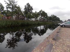 Walking along the Canal in Heerenveen