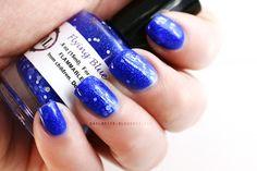 Nail-venturous Lacquers Flying Blue Jay #manicure #beauty #nailpolish