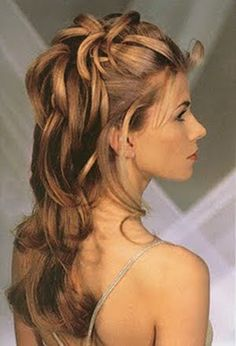 Easy Formal Hairstyles Hairstyles pictures of long hairstyles, medium length hairstyles and short hairstyles, prom hairstyles, wedding hairstyles and hair updos with best hairstyles pictures of curly, wavy and straight hair Beach Hairstyles For Long Hair, My Hairstyle, Formal Hairstyles, Bride Hairstyles, Down Hairstyles, Bridesmaid Hairstyles, Hairstyle Ideas, Perfect Hairstyle, Hairstyle Wedding