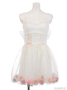 [Shinsaibashi & WEB limited] MT 2th Aniba O / P (dress)   Swankiss (Suwankisu)   Suwankisu official mail order site