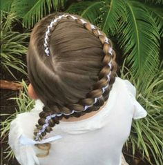 Popular hairstyles for school Baby Girl Hairstyles, Princess Hairstyles, Hairstyles For School, Popular Hairstyles, Pretty Hairstyles, Braided Hairstyles, Little Girl Braids, Girls Braids, Fancy Braids